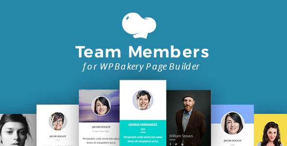 Team Members for WPBakery Page Builder - CodeCanyon Item for Sale