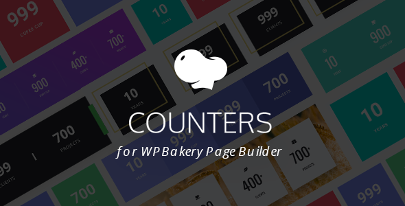 Statistic Counters for WPBakery Page Builder (Visual Composer) - CodeCanyon Item for Sale