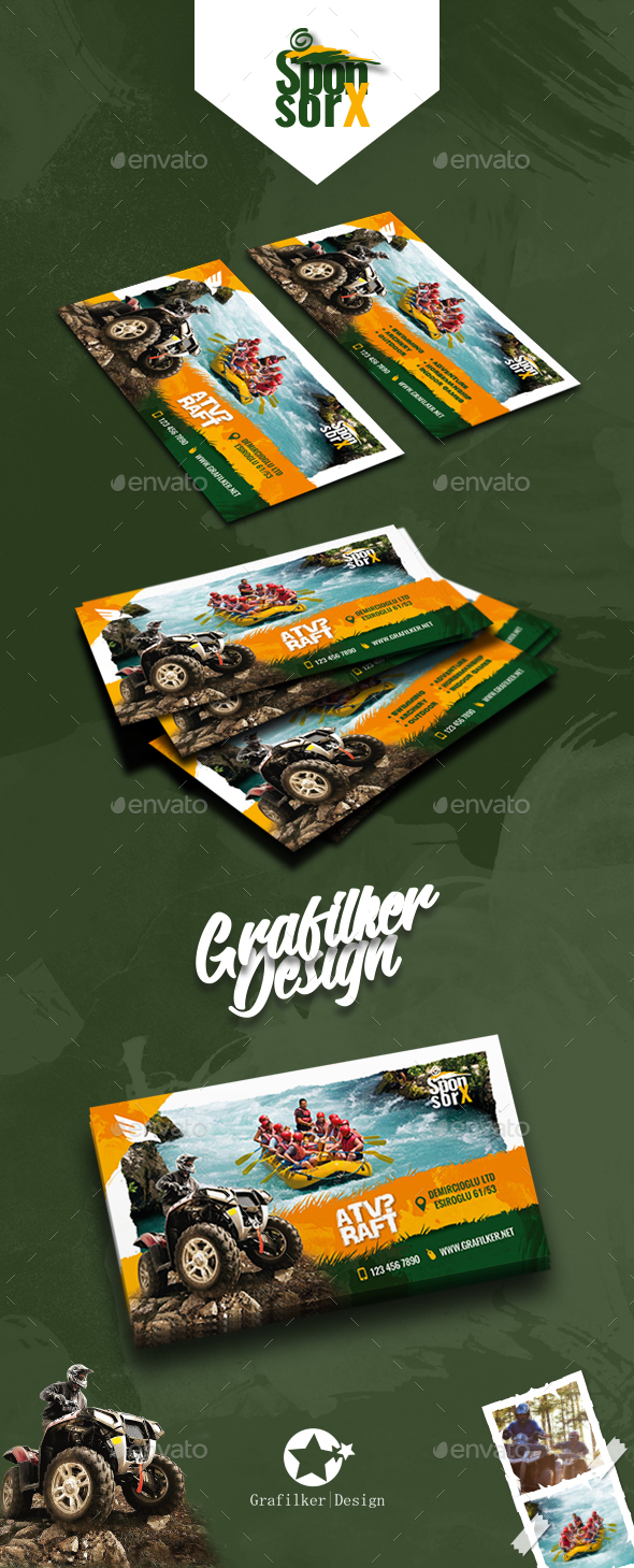GraphicRiver Camping Adventure Business Card Templates 20889770