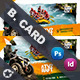 Camping Adventure Business Card Templates