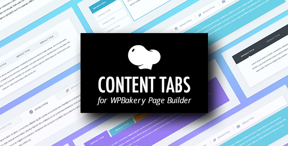 Content Tabs Addons for Visual Composer WordPress Plugin