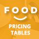 Foodplan - Responsive Pricing Tables Framework