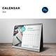 Desk Calendar 2018 V01 - GraphicRiver Item for Sale