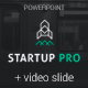 Startup Pro + Video Powerpoint Template - GraphicRiver Item for Sale