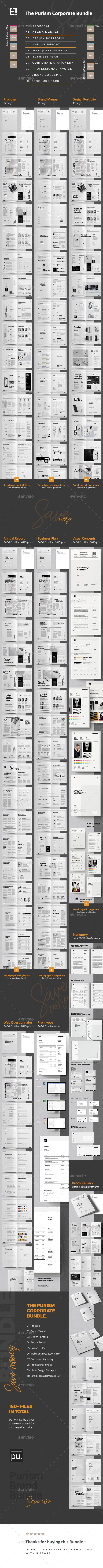 Company Bundle - Corporate Brochures