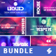 Electronic Music Event Facebook Post Banner Templates Bundle 7 - GraphicRiver Item for Sale