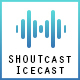 SHOUTcast & Icecast Radio Web Player with iTunes & Last.FM Integrated