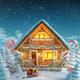 Amazing Decorated log house - PhotoDune Item for Sale