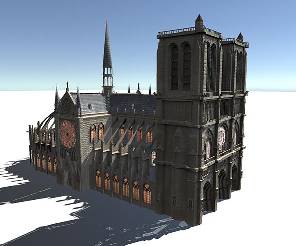 3DOcean European Buildings 20890847