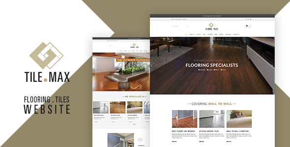 Image of Tilemax - Flooring, Tiling & Paving WP Theme