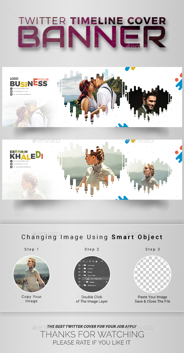 GraphicRiver Twitter Timeline Cover 20891060
