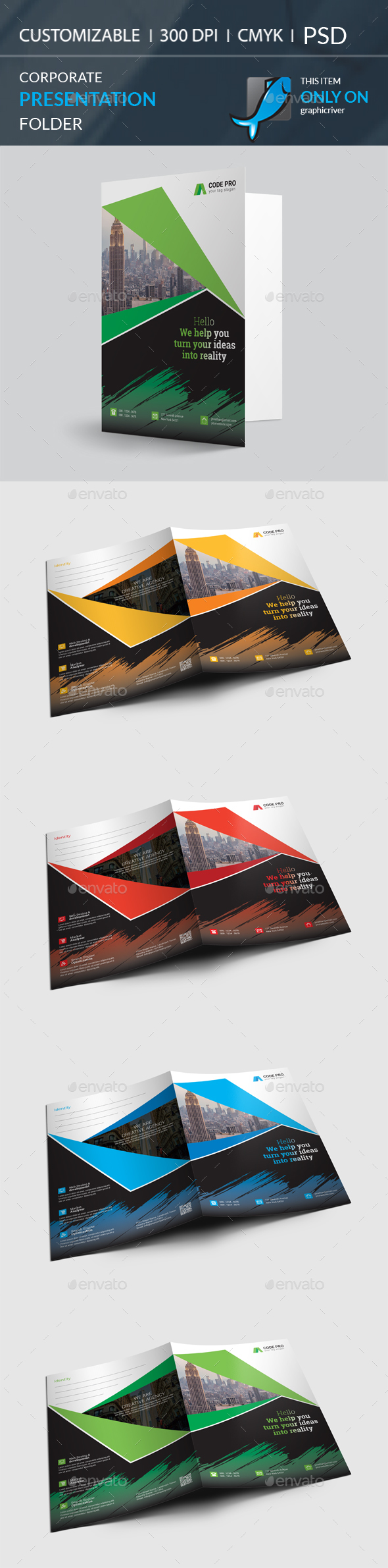 GraphicRiver Presentation Folder 20891131