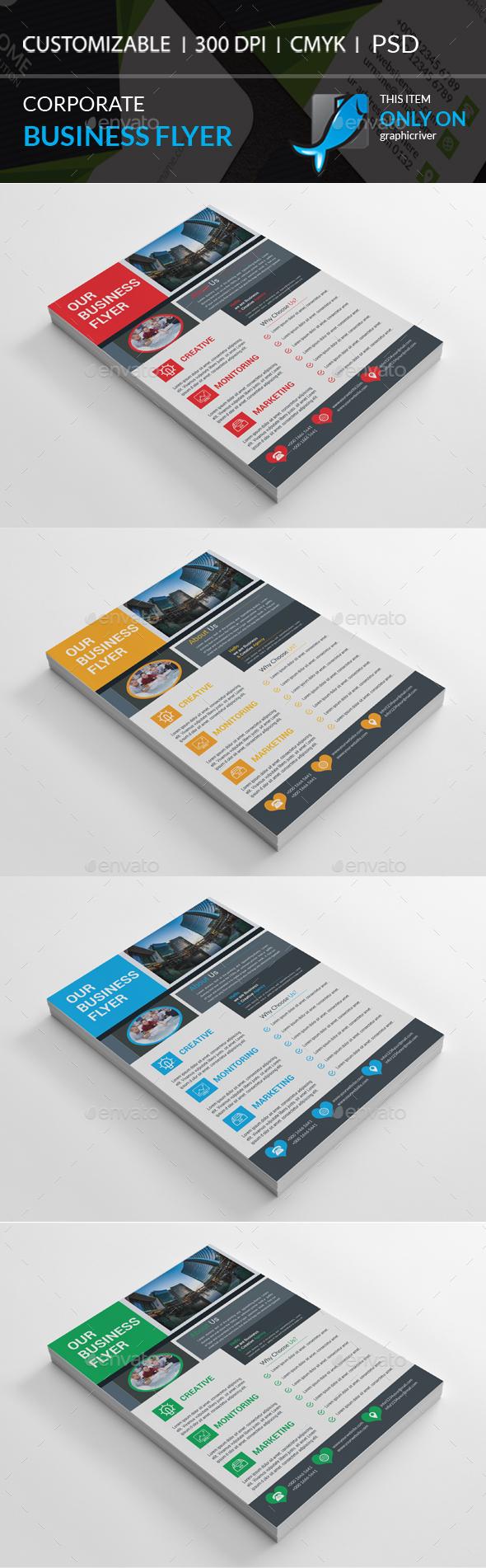 GraphicRiver Corporate Flyer 20891332
