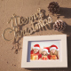 Christmas Photo Frame On Thee Beach - VideoHive Item for Sale
