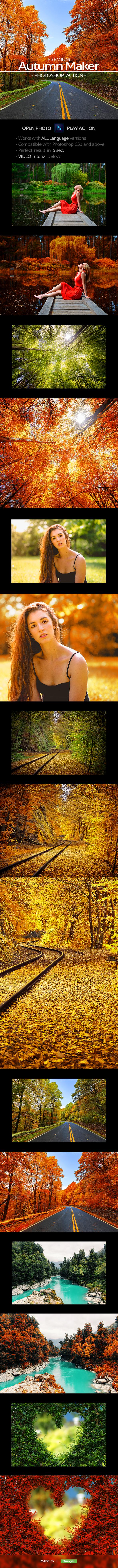 Premium Autumn Maker - Photo Effects Actions