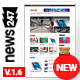 News247 - News Magazine WordPress Theme - ThemeForest Item for Sale