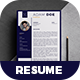 Creative Resume - Adam -