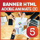 Maketing Banner Ad HTML5 (Animate CC)