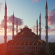 Mosque and Clouds - VideoHive Item for Sale