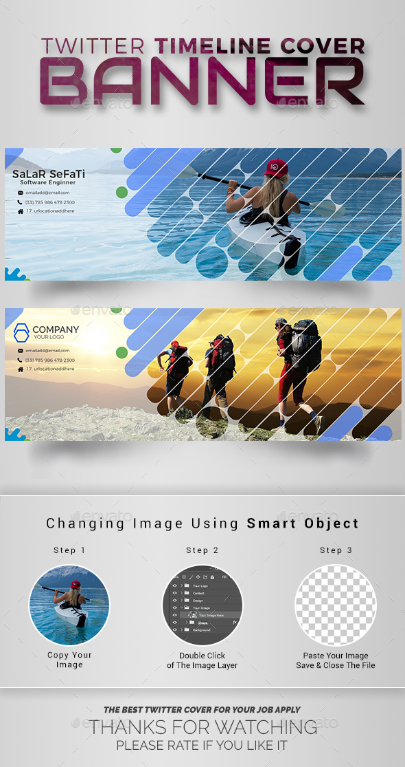 GraphicRiver Twitter Timeline Cover 20891901