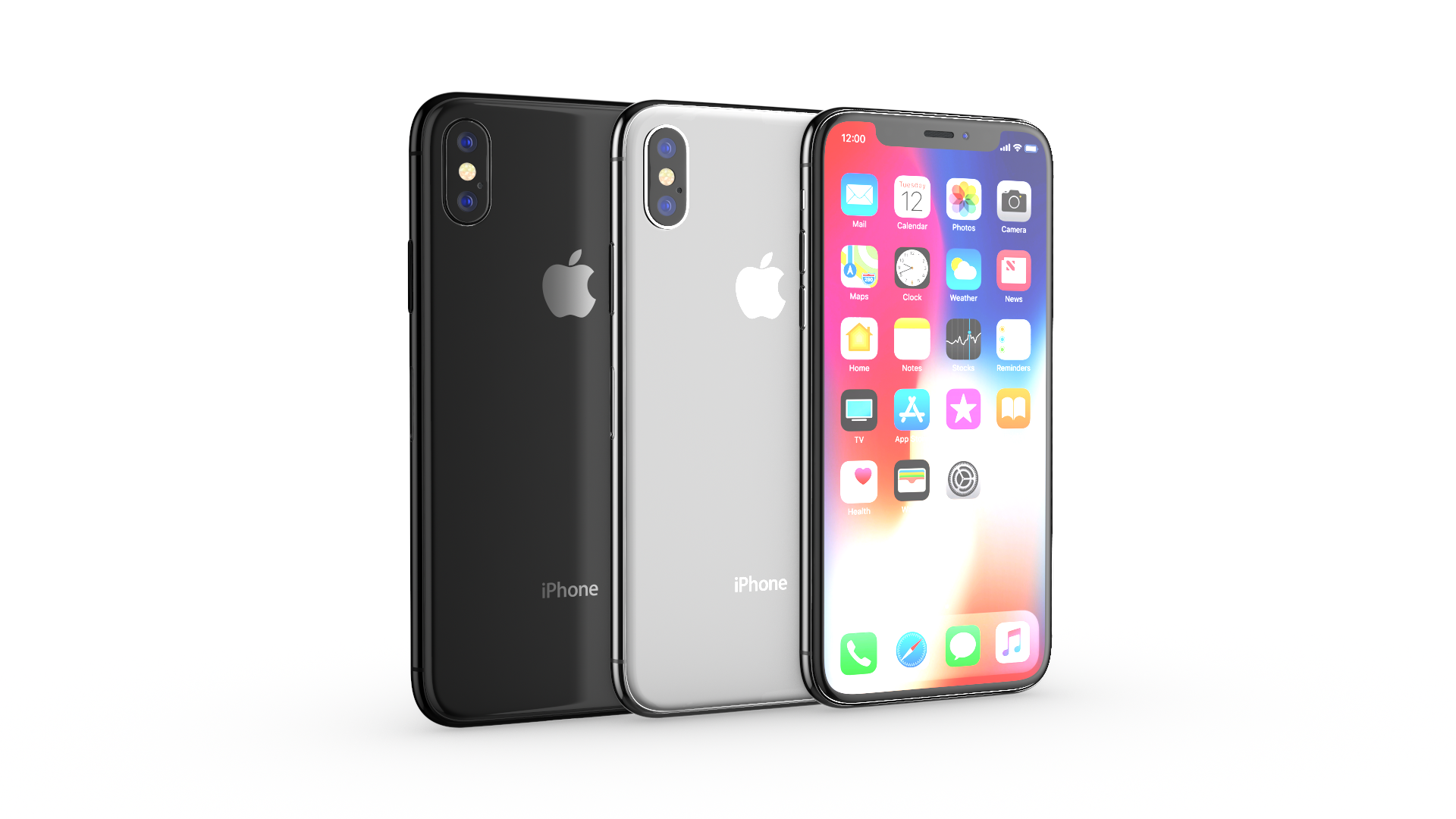 Apple IPhone X All Colors By MadMIX