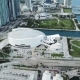 Aerial Panorama of Miami Financial District  - VideoHive Item for Sale