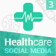 HealthCare - Social Media Cover/Profile Pack 3 - GraphicRiver Item for Sale
