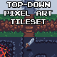 Top-Down Pixel Art Game Tileset