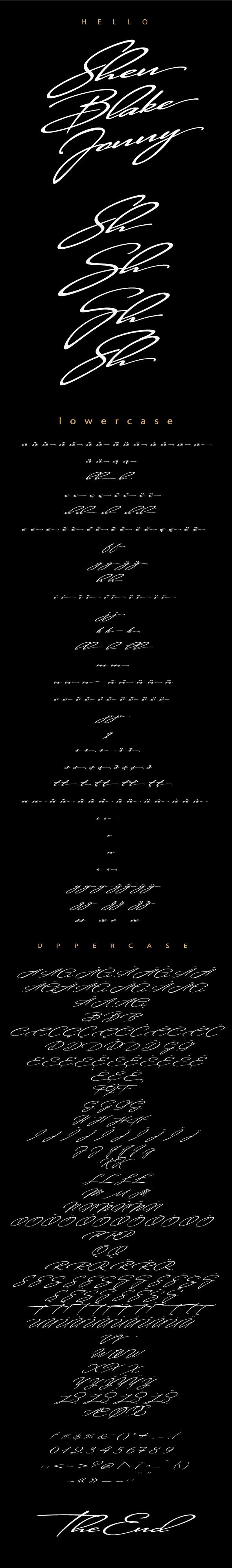Shen - Fonts