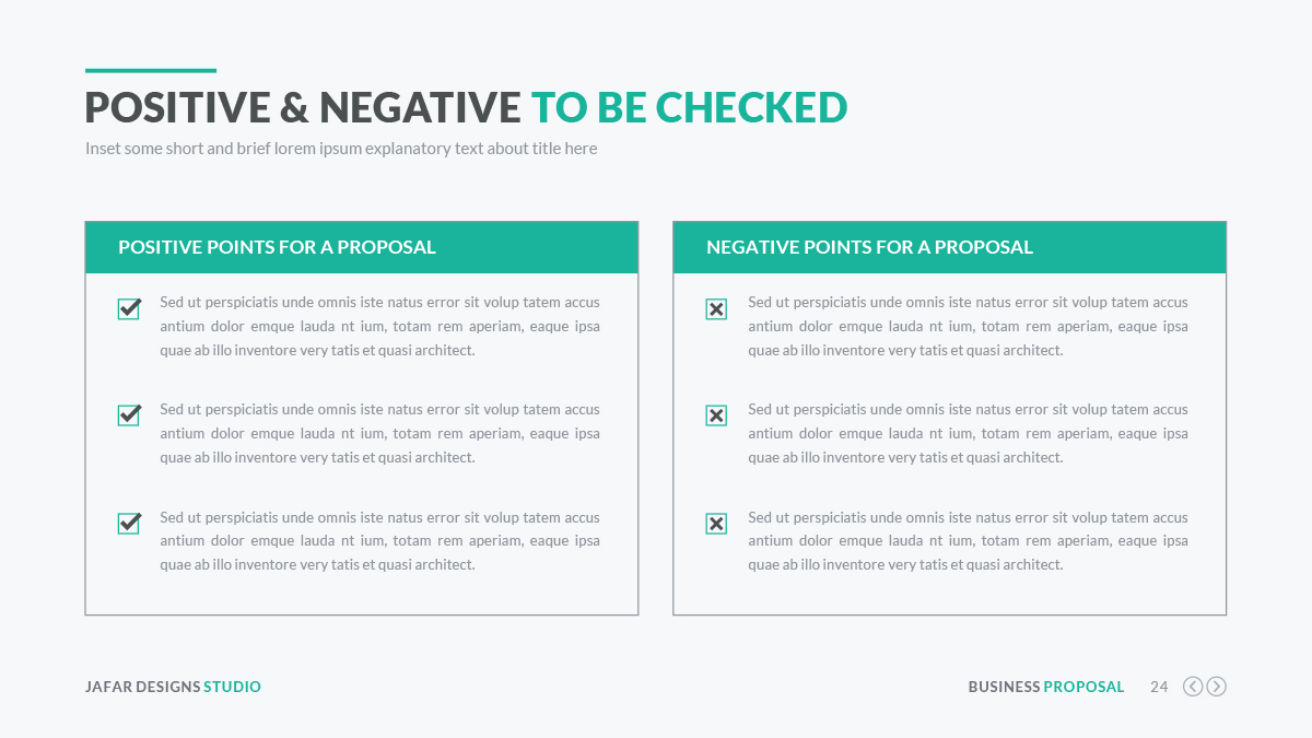Business Proposal PowerPoint Template by JafarDesigns – Business Proposals