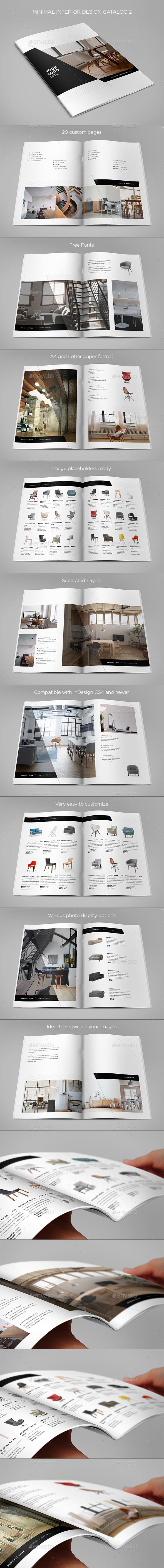 Minimal Interior Design Catalog 2 - Catalogs Brochures