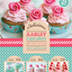 Pastry / Cake Menu - GraphicRiver Item for Sale