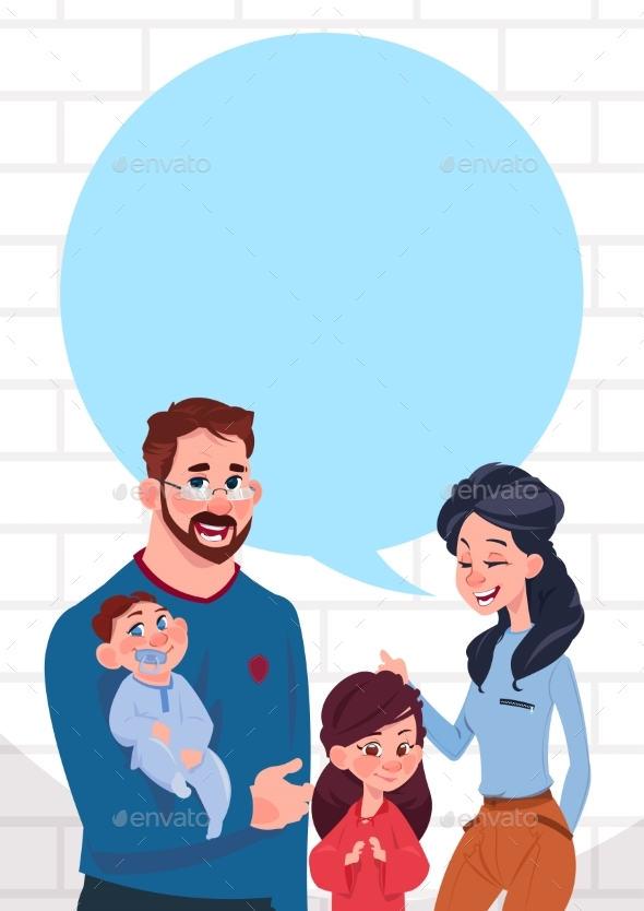 GraphicRiver Young Family 20893516