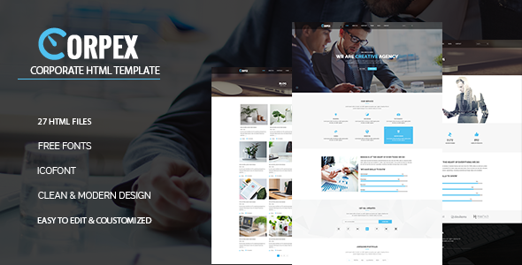 Corpex – Corpotate HTML Template - Business Corporate