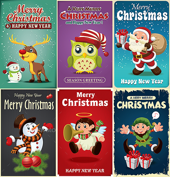 6 Christmas Poster - Christmas Seasons/Holidays
