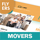 Moving Service Flyers 2 – 4 Options