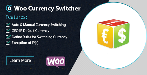 CodeCanyon WooCommerce Currency Switcher Plugin 20856451
