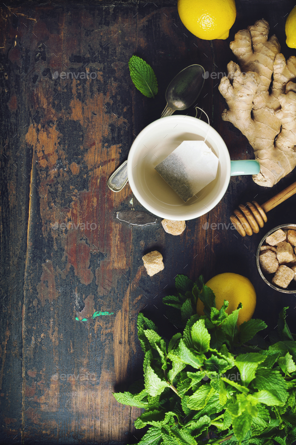 Tea composition - Stock Photo - Images