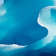 Shiny blue ice texture of glacial iceberg - PhotoDune Item for Sale