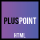 Pluspoint - One Page Multipurpose HTML Template
