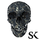 Skull Low Poly - GraphicRiver Item for Sale