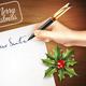 Christmas Letter Illustration