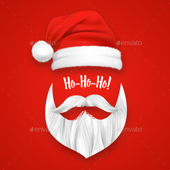 GraphicRiver Realistic Santa Claus Christmas Mask 20894797