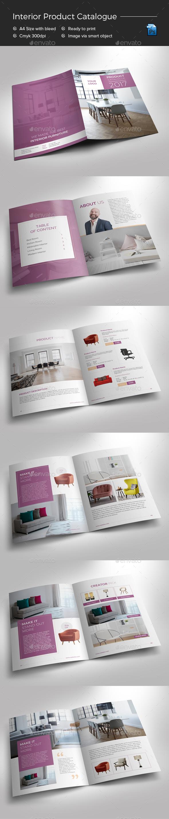 GraphicRiver Interior Product Catalogue 20895092