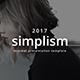 Simplism Minimal Keynote Template