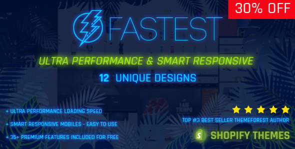 Fastest - Shopify themes with the best performance score (97/100 GoogleInsights Scores) - 16 Homes