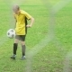 Soccer Player Playing and Juggling with Ball on Field - VideoHive Item for Sale