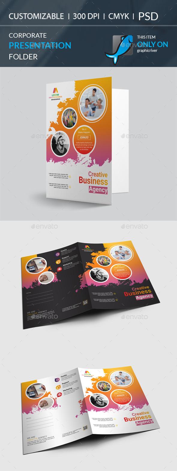 GraphicRiver Presentation Folder 20895910