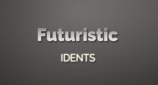 Futuristic Idents