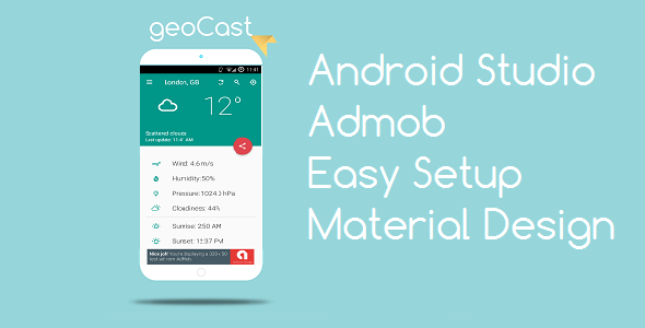 CodeCanyon geoCast Live Weather 20896330